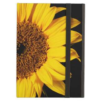 Sunflower on Black - Customized Template iPad Air Cases