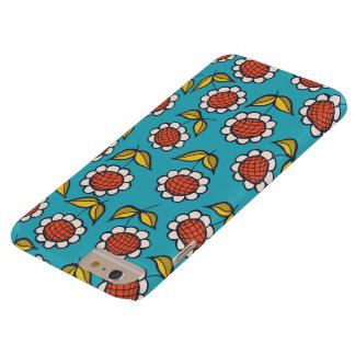 Sunflower on blue - phone case