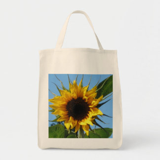 Sunflower - Organic Grocery Tote Bag