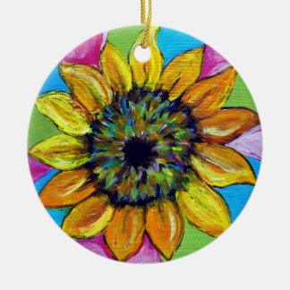 Sunflower Ornament