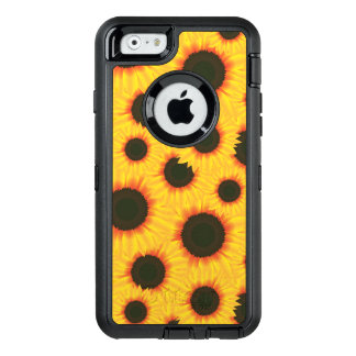 Sunflower OtterBox Defender iPhone Case