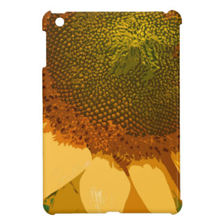 Sunflower painted iPad mini cases