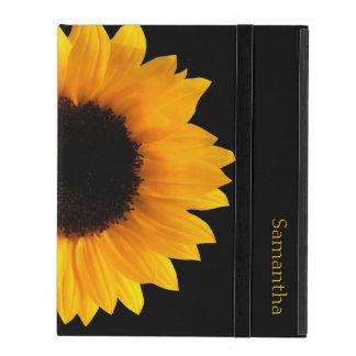Sunflower Personalized iPad Case