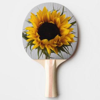 Sunflower Ping Pong Bat Ping Pong Paddle