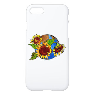 Sunflower Planet iPhone 8/7 Case