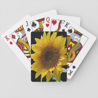 Sunflower playing Cards for Her