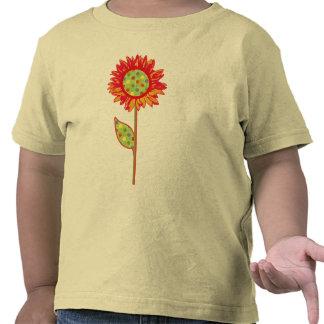 Sunflower Polka Dots kids t-shirt