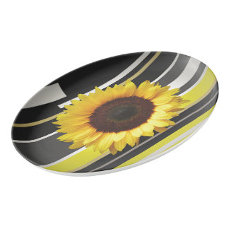 Sunflower Porcelain Serving Platter