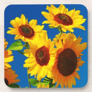 Sunflower Power Beverage Coaster