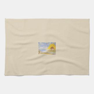 Sunflower Power Tea Towel