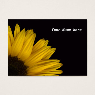 Sunflower Reflection Business Card - Customized