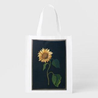 Sunflower Reusable Grocery Bag