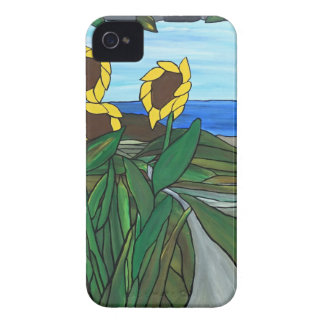 Sunflower seascape iPhone 4 cases