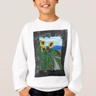 Sunflower seascape sweatshirt