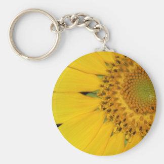 Sunflower Secrets keychain