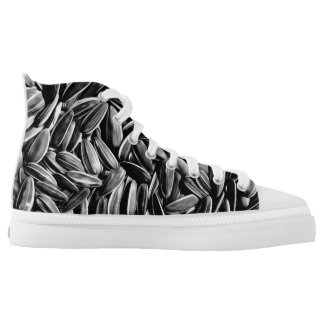 Sunflower Seeds Cool Fun Printed Shoes
