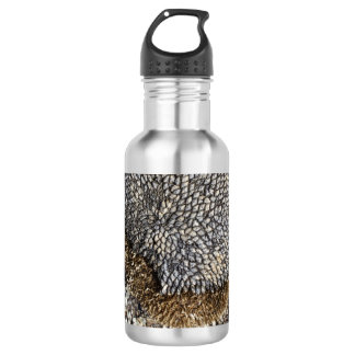 Sunflower Seeds on Wood 532 Ml Water Bottle