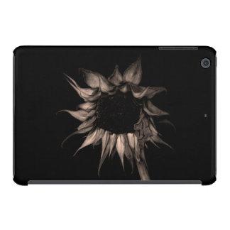 Sunflower - Sepia Fine Art Photograph Unique Cool iPad Mini Cover