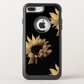 Sunflower - Sepia Fine Art Photograph Unique Cool OtterBox Commuter iPhone 8 Plus/7 Plus Case