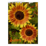 Sunflower Sisters Greeting Card