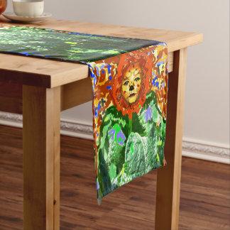 SUNFLOWER SPIRIT TABLE RUNNER BRIGHT HAPPY