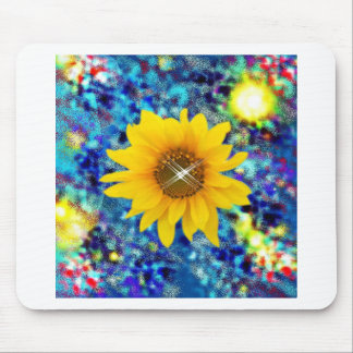 Sunflower spring Dazzle gifts Mousepads