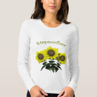 Sunflower Stepmother Mothers Day Gifts Shirt