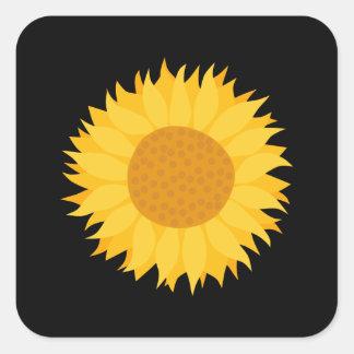 Sunflower. Square Sticker