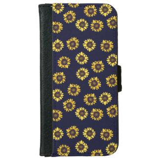 Sunflower summer sunshine iPhone 6 wallet case