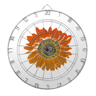 Sunflower Sunshine Dartboard