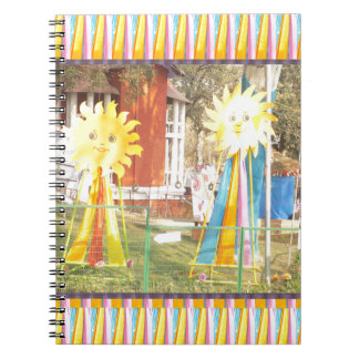 sunflower sunshine decorations festivals celebrati notebook