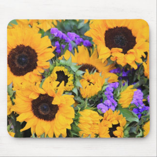 Sunflower Sunshine Mouse Pad