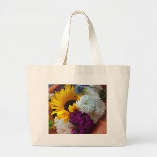 Sunflower Surprise Large Tote Bag