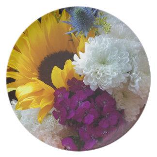 Sunflower Surprise Plate