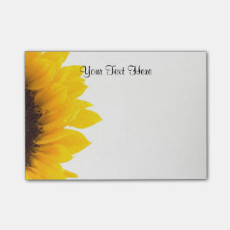 Sunflower Template Post-it Notes