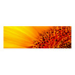 Sunflower Thank You Bookmark & Emerson Quote Business Card