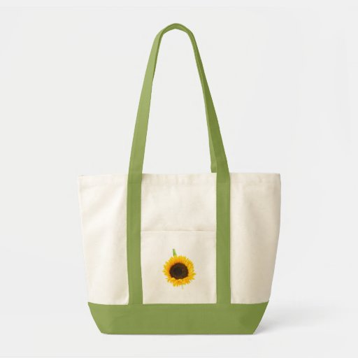 sunflower tote bag by Petr Kratochvil