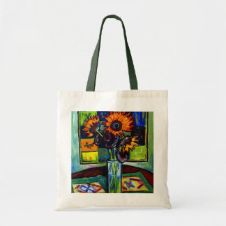 Sunflower Tote Budget Tote Bag