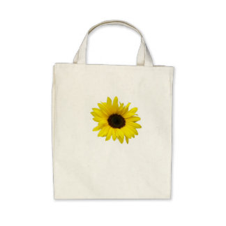 Sunflower Tote Canvas Bags
