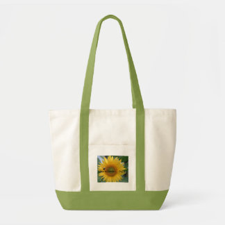 Sunflower tote~reuseable grocery bag~