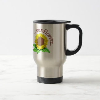 Sunflower Travel Mug