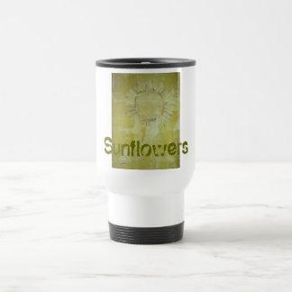Sunflower Travel Mug!!! Stainless Steel Travel Mug