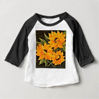 Sunflower Trio Baby T-Shirt