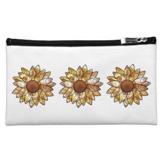 Sunflower Vibes Makeup Bag