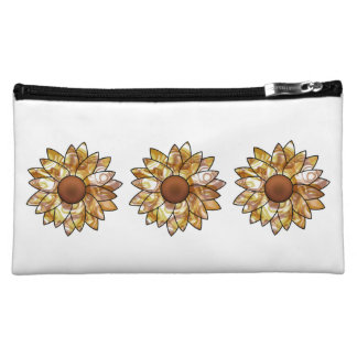 Sunflower Vibes Makeup Bags