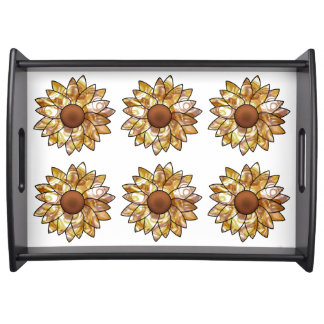 Sunflower Vibes Serving Tray