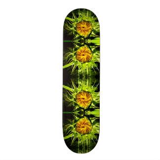 Sunflower whirl 20 cm skateboard deck