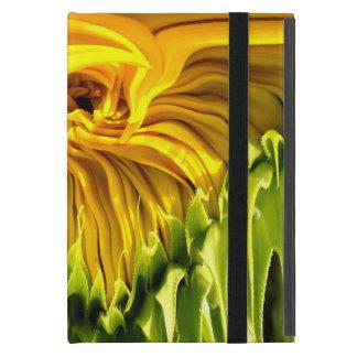 Sunflower whirl drip iPad mini covers