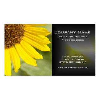 Sunflower Wildflower Business Card