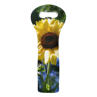 Sunflower Wine Bag